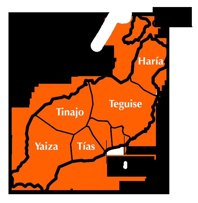 Municipios de Lanzarote